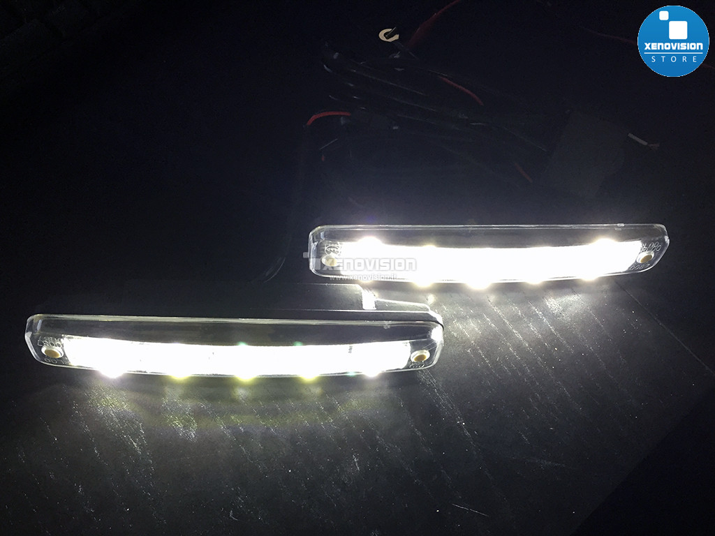 [B-STOCK] Kit DRL 5 LED Alta Potenza Daylight 6000k