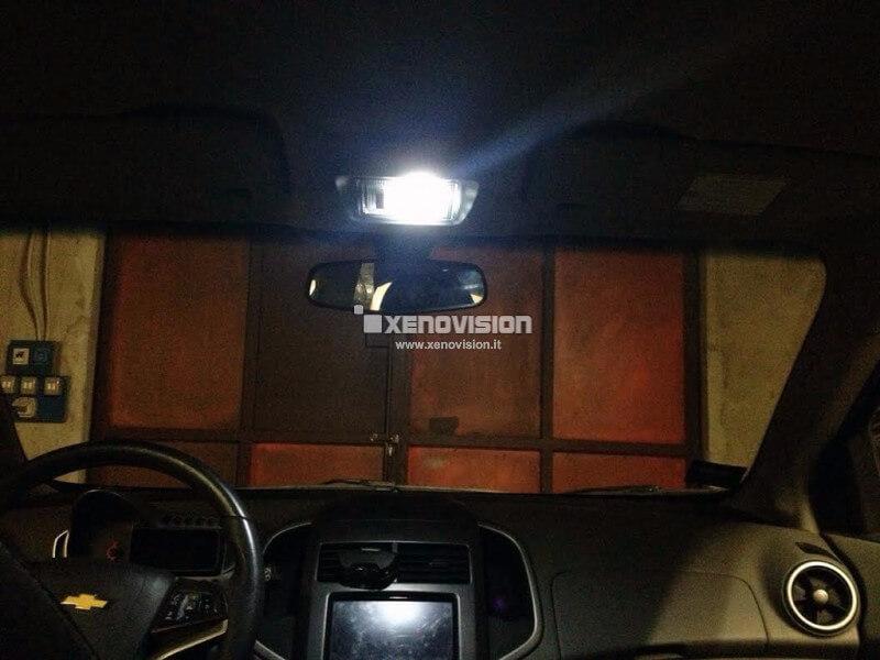 C5W C10W (Siluro) LED Xenovision per Luci Cortesia / Targa 6000k