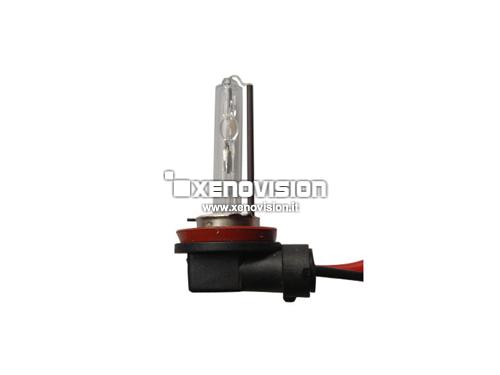 H11 6000k 55W Lampada xenon a ELLE - Innesto 90 gradi