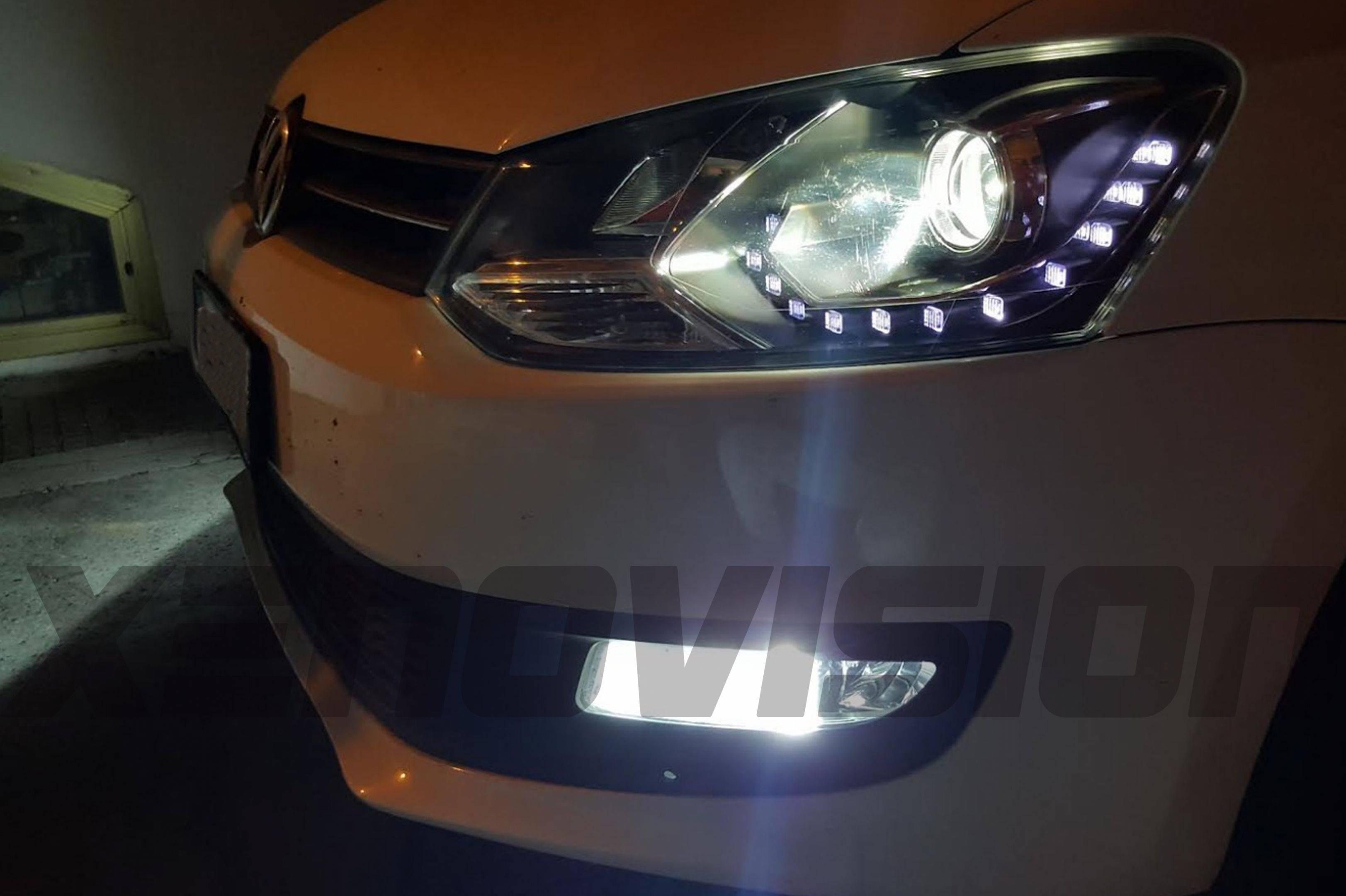 H11 H9 H8 LED XPRO Gear - Bianco Lunare 6000k