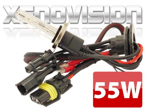 H3 6000k Lampada xenon originale Xenovision per kit 55W - Plug Ket