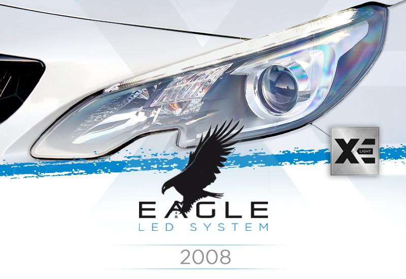 Kit Anabbaglianti LED Specifico per Peugeot 2008 dal 2013 in poi