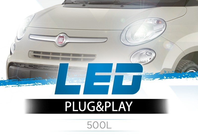 Kit Anabbaglianti X-pro Brightstar LED per Fiat 500L