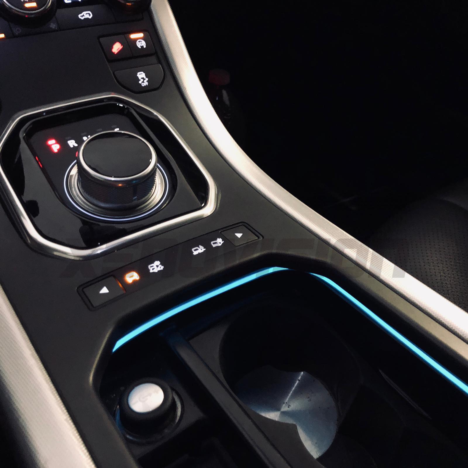 Kit Fibra Ottica LED Cambiacolore per abitacolo 6 Metri con App