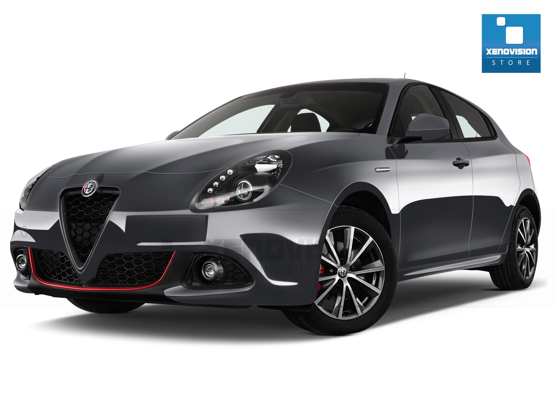 Kit Led Alfa Romeo Giulietta - 2008 in poi, MY2014 - FULL - Bianco Lunare 6000k