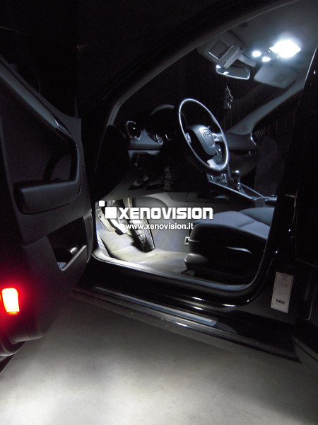 Kit Led Audi A3 2010 restyling in poi - FULL - Bianco Lunare 6000k
