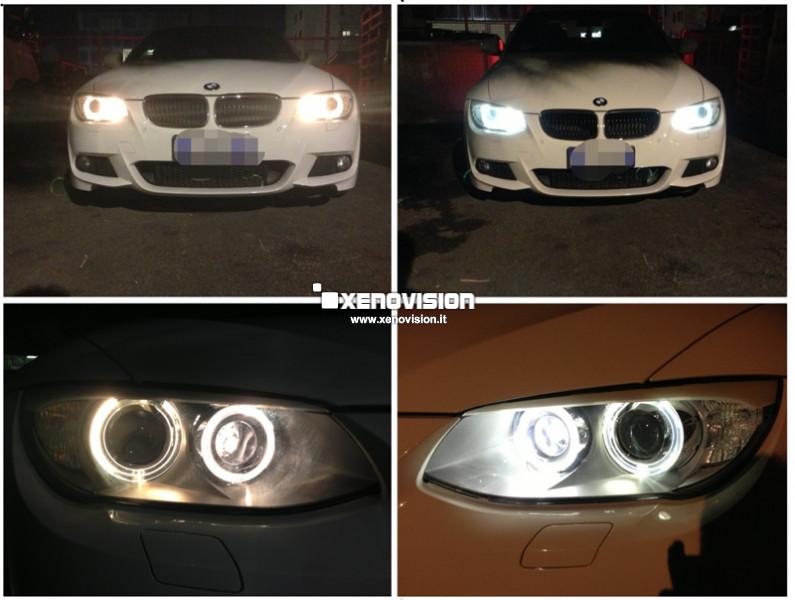 Kit Led BMW E90 E91 E92 M - Full Led e Angel Eyes - 6000k
