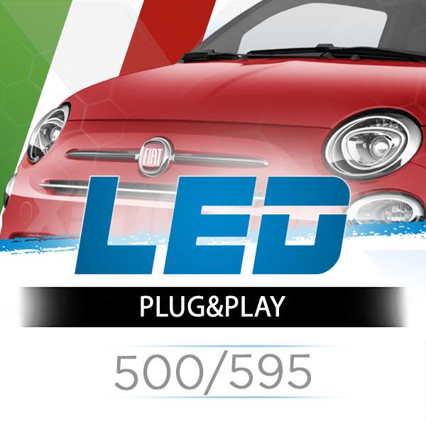 Kit LED Fiat 500/595 Abarth - Anabbaglianti