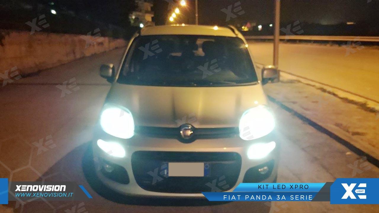 Kit Led Fiat Panda Anabbaglianti Abbaglianti Xenovision