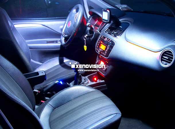 Kit Led Fiat Punto Evo - 2008 in poi - BASE - Bianco Lunare 6000k