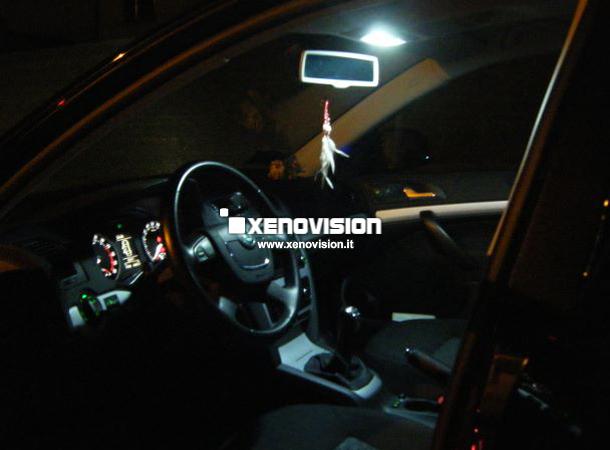 Kit Led Skoda Octavia 2010 - FULL - tutti i punti luce - 6000k