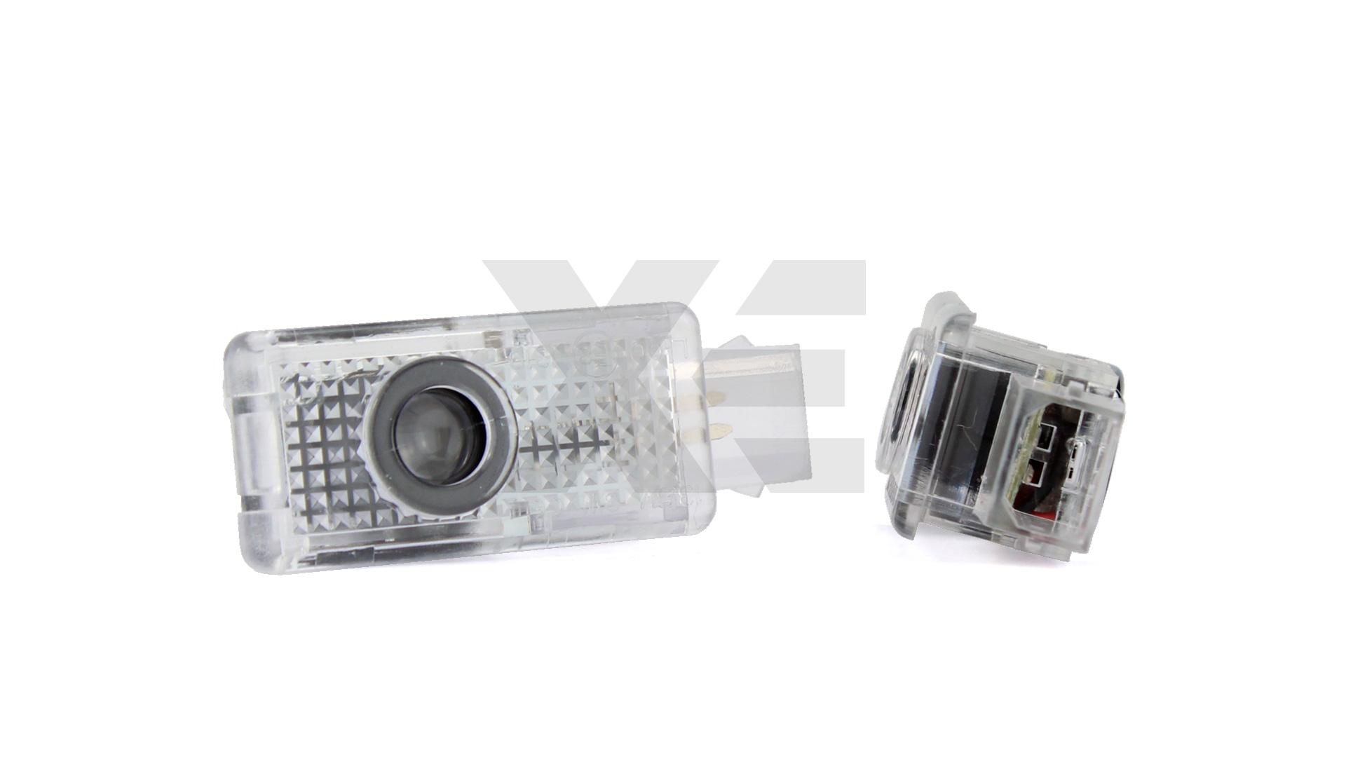 Kit Placche Led Sottoporta Proiettore Logo Audi - A3 A4 A5 A6 A8 R8 TT Q5 Q7