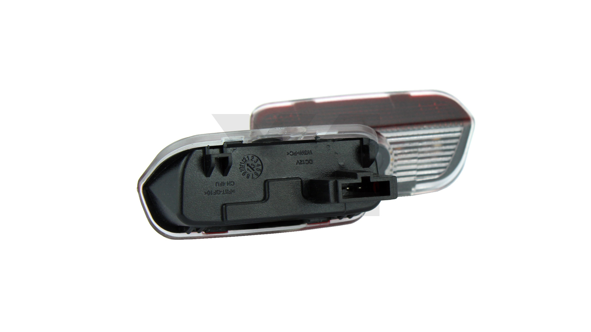 Kit Placche Led Sottoporta Proiettore Logo Porsche - Cayenne 2011 in poi