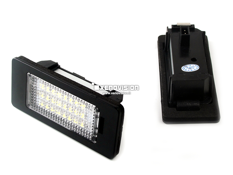 Kit Plafoniere Led Targa VW Golf VI Passat Polo Touran Touareg Sharan