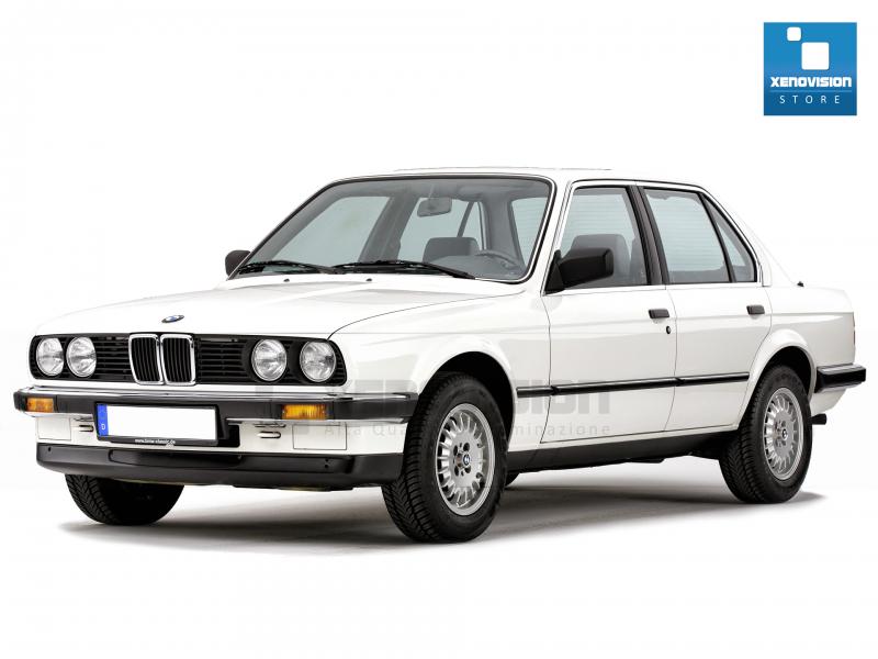 Kit Xenon BMW Serie 3 E30 - 1982 al 1994 - Xenon 35W e Posizione - 5000k