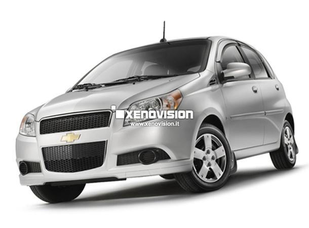 Kit Xenon Chevrolet Aveo - 2003 al 2010 - BiXenon 35W e Posizione - 6000k