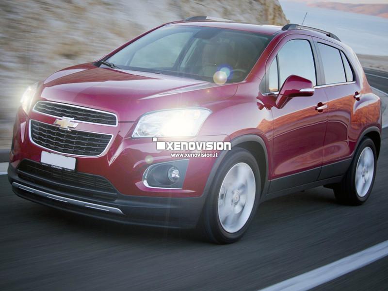 Kit Xenon Chevrolet Trax - 2013 in poi - Xenon 35W - 5300k