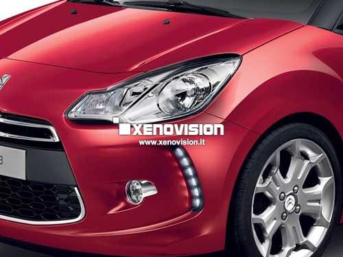 Kit Xenon Citroen DS3 - 2010 in poi - Xenon 35W in tinta con i Led