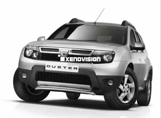 Kit Xenon Dacia Duster - 2010 al 2013 - Xenon 35W, Posizioni e Targa - 6000k