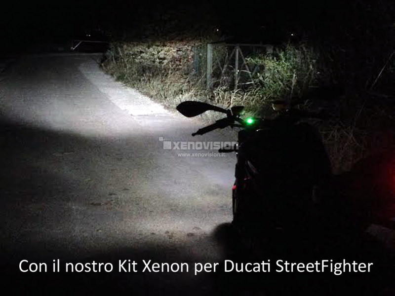 Kit Xenon Ducati Streetfighter - 2009 in poi - Xenon 35W - 6000k