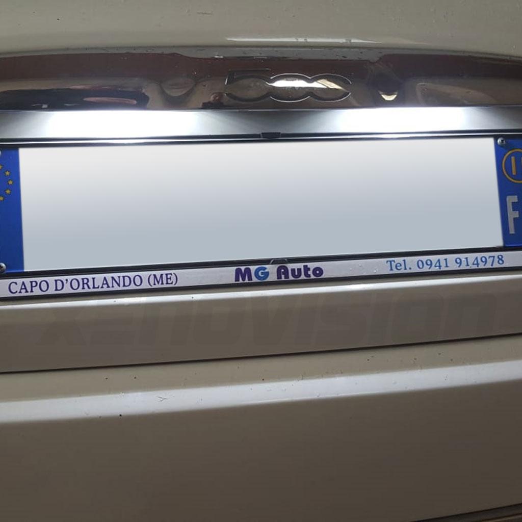 Kit xenon Fiat 500 fino a 2015 - Xenon 35W, Led DRL e Targa - Zero Spie - 6000k