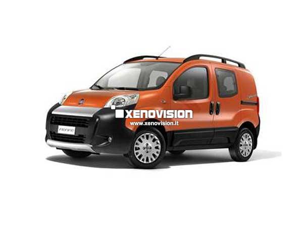 Kit Xenon Fiat Fiorino - 2008 in poi - BiXenon 35W e Luci Posizione - 6000k