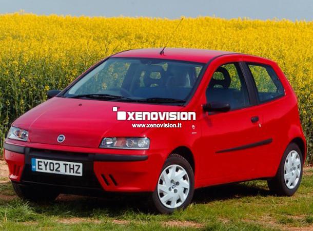 Kit Xenon Fiat Punto - 1999 a 2005 - Xenon 35W e Led Posizione - 6000k