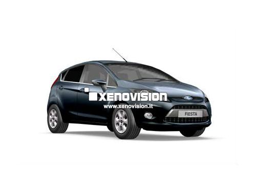 Kit Xenon Ford Fiesta - da 2008 a 2012 - Lenticolare - Xenon 35W e Led Posizione - 6000k