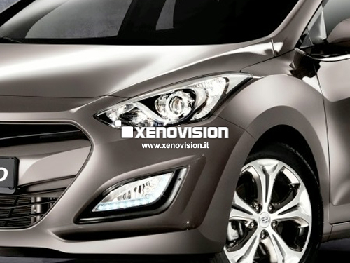 Kit Xenon Hyundai i30 - 2012 in poi - Xenon 35W e Posizione - 5300k
