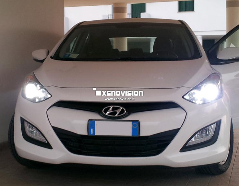 Kit Xenon Hyundai i30 - 2012 in poi - Xenon 35W e Posizione - 6100k