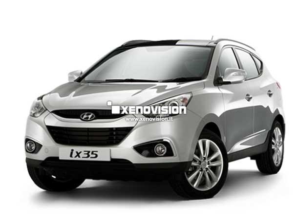Kit Xenon Hyundai IX35 - 2009 al 2013 - Xenon 35W e Led - 6000k