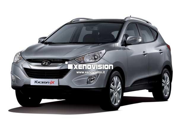Kit Xenon Hyundai Tucson - 2004 a 2009 - BiXenon 55W e Led - 6000k