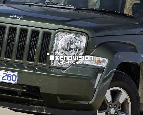 Kit Xenon Jeep Cherokee KK - 2008 in poi - BiXenon 35W e Led 5000k