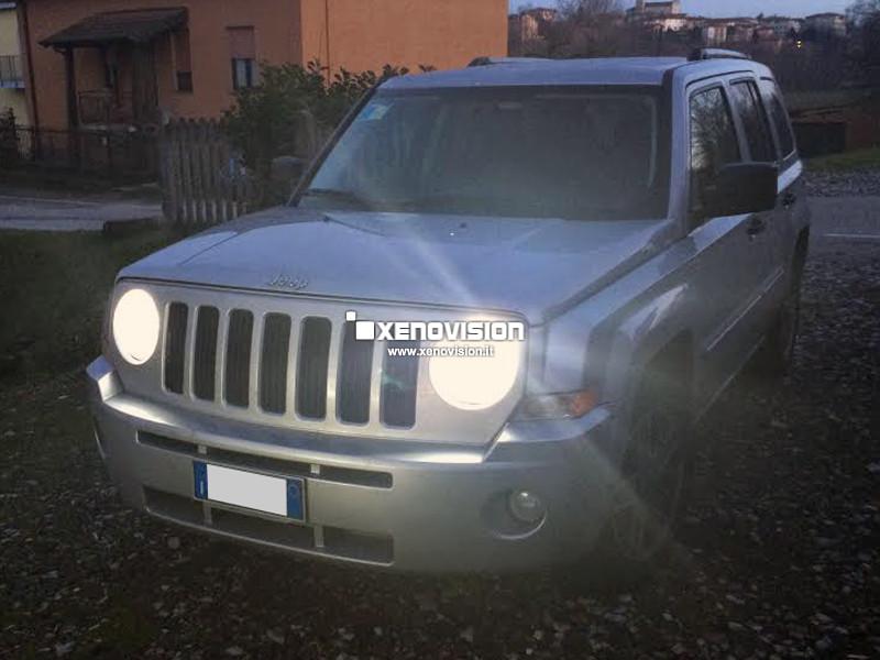 Kit Xenon Jeep Patriot - 2007 in poi (anche MY2011) - BiXenon 35W - 6000k
