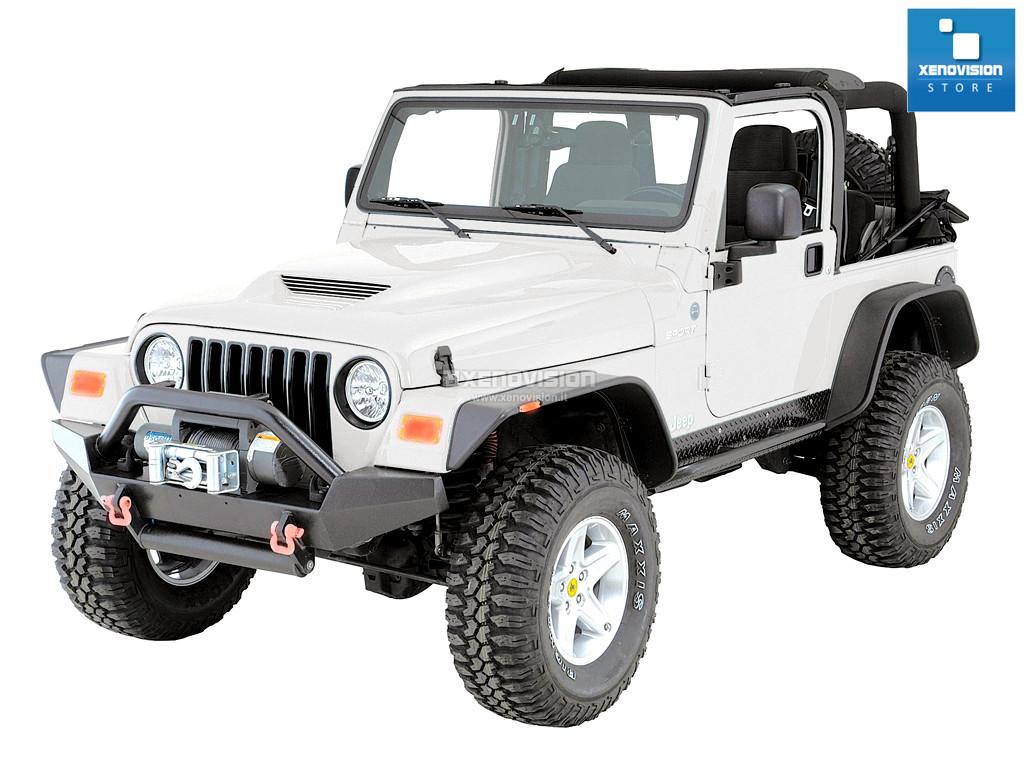 Kit Xenon Jeep Wrangler TJ - 1997 al 2006 - BiXenon 55W - 6000k
