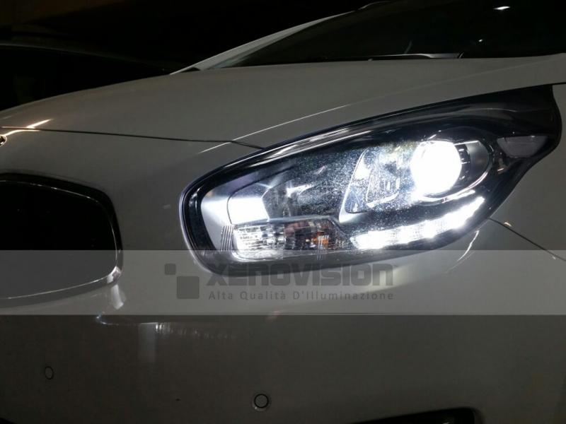 Kit Xenon Kia Carens - dal 2013 in poi - Xenon 35W - 6100k