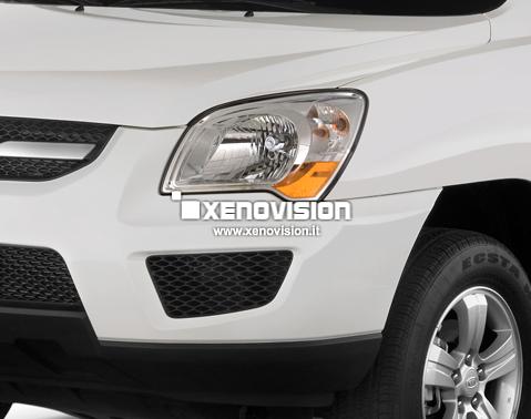 Kit Xenon Kia Sportage - 2004 a 2010 - BiXenon 35W e Led Posizione - 6000k