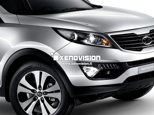 Kit Xenon Kia Sportage 3a Serie - 2010 a 2015  - Xenon 35W - 5000k