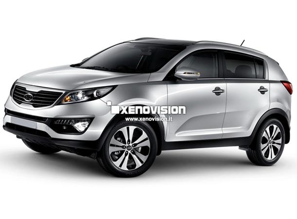 Kit Xenon Kia Sportage 3a Serie - 2010 a 2015 - Xenon 35W - 6000k