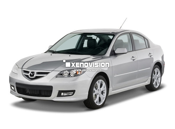 Kit Xenon Mazda 3 - 2003 a 2009 - Xenon 35W e Led Posizione - 6000k