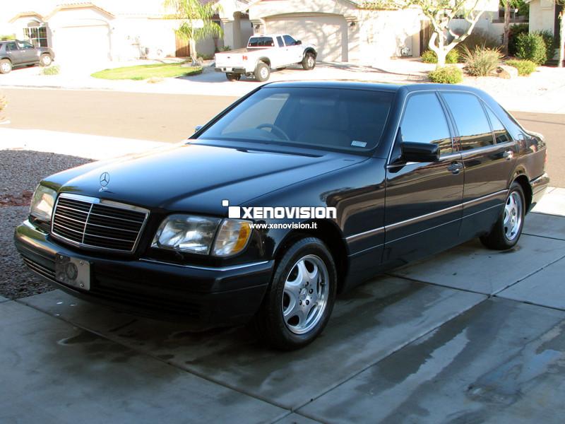 Kit Xenon Mercedes-Benz 320 W124 W140 - 1993 al 1998 - Xenon 55W - 6000k