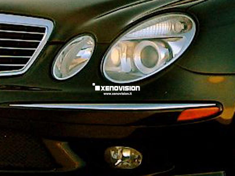 Kit Xenon Mercedes Classe E W211 - 2002 al 2009 - Xenon 35W - 6100k