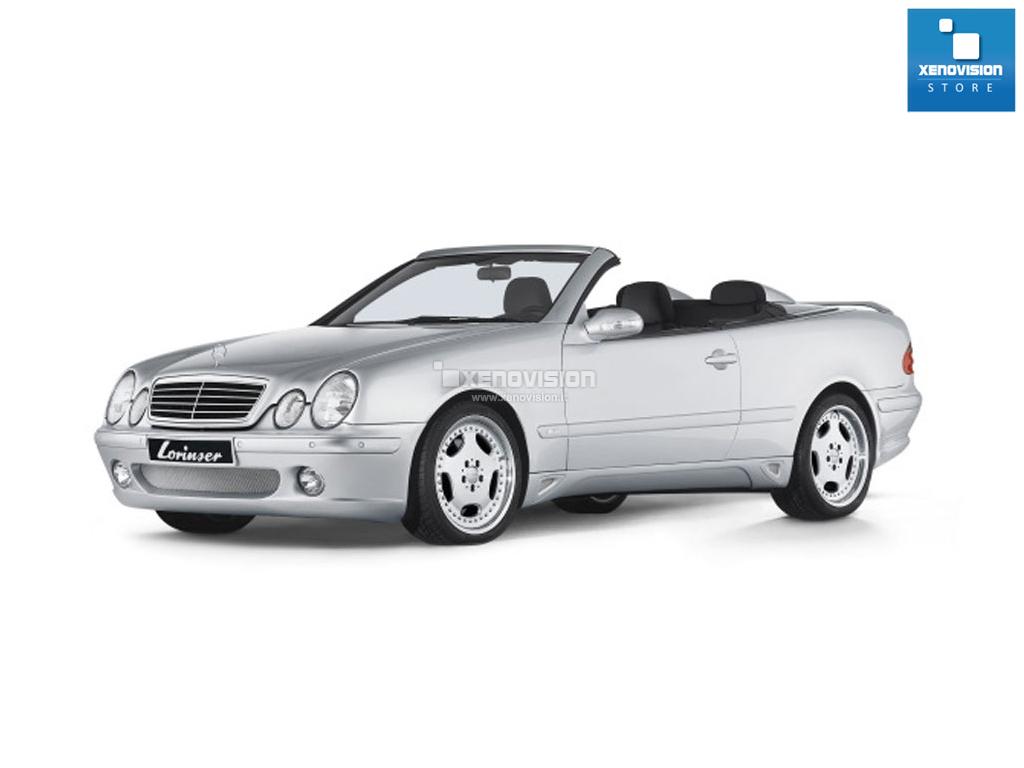 Kit Xenon Mercedes CLK C208 - 1997 al 2001 - Xenon 35W e Posizione - 6000k