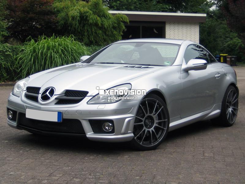 Kit Xenon Mercedes SLK R171 - 2004 al 2011 - Xenon 35W e Posizioni - 6100k