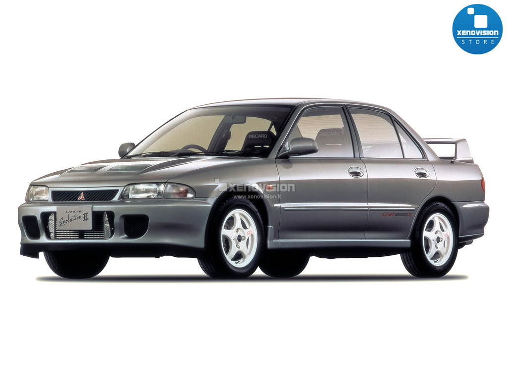 Kit Xenon Mitsubishi Lancer Evolution II - 1993 al 1995 - BiXenon 35W - 6000k