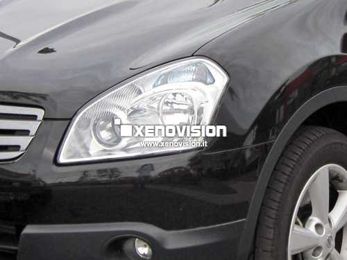 Kit Xenon Nissan Qashqai - 2007 a 2010 - Xenon 35W e Led Posizione - 6100k