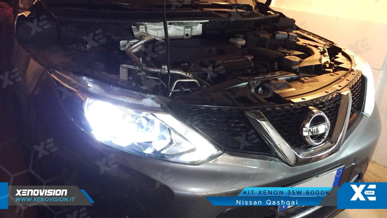 Kit Xenon Nissan Qashqai - 2014 in poi - Xenon 35W - 6000k