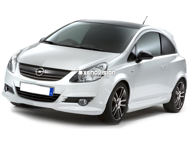 Kit Xenon Opel Corsa - 2010 in poi - Xenon 35W e Led DRL - 6000k