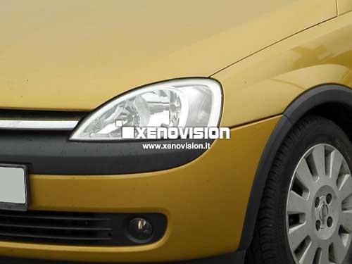 Kit Xenon Opel Corsa C - 2000 a 2005 - Xenon 35W e Luci Posizione - 6000k