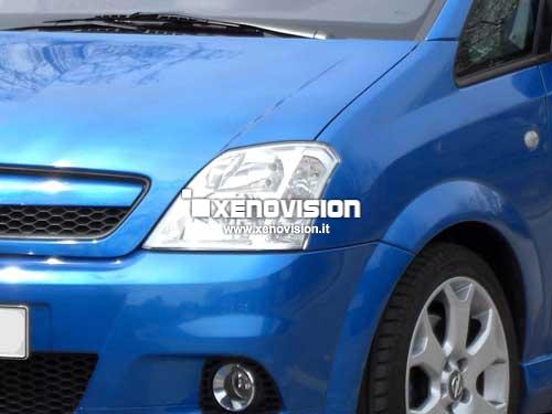 Kit Xenon Opel Meriva A - 2003 al 2010 - Xenon 35W e Luci Posizione - 6000k